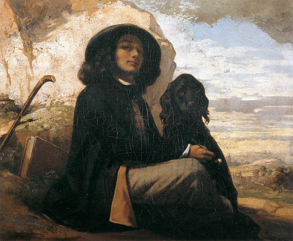 Dipinto Gustave Courbet