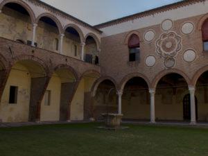 Cortile casa Romei Ferrara